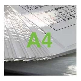 Plastification d'une feuille au format A4 - 80 microns