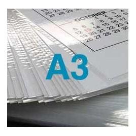 Plastification d'une feuille au format A3 - 80 microns