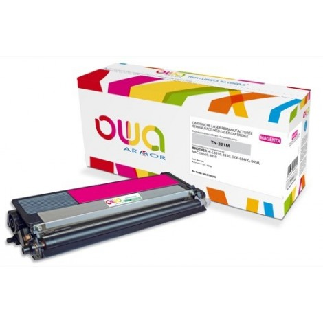 Toner ARMOR pour Brother TN-321-M Magenta - 1 500 pages - K15780OW
