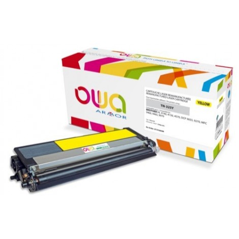 Toner ARMOR pour Brother TN-325-Y Jaune - 3 500 pages - K15426OW