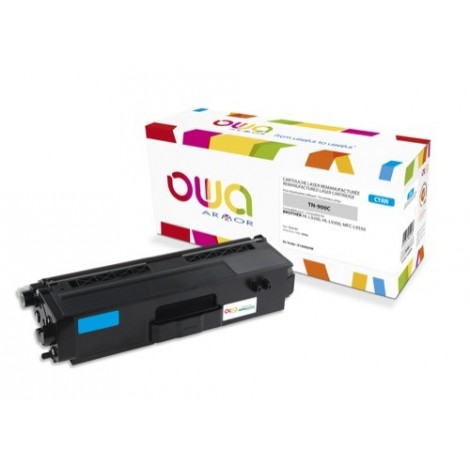 Toner ARMOR pour Brother TN-900-C Cyan - 6 000 pages - K16006OW