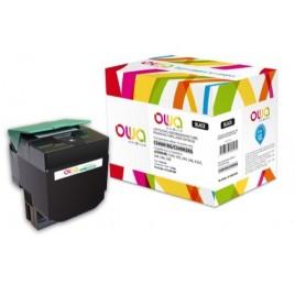 Toner ARMOR pour Lexmark C540H1KG Noir - 2 500 pages - K15467OW