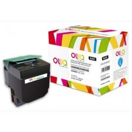 Toner ARMOR pour Lexmark C544X1KG Noir - 6 000 pages - K15155OW